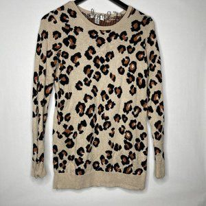 Motherhood Maternity Leopard Print Sweater